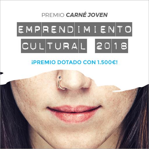 Premio Carné Joven Emprendimiento Cultural 2018