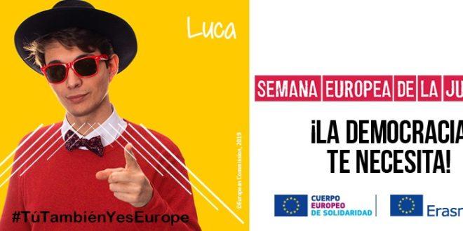¡A la agenda! Tú También Yes Europe, llega la Semana Europea de la Juventud