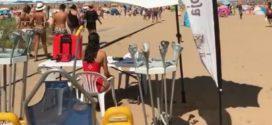 Cruz Roja busca voluntariado para el anfibuggy de la Playa de Rodiles este verano