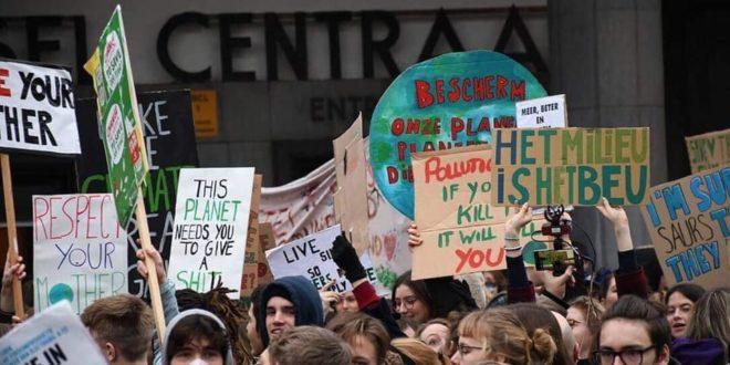 """El despertar climático de los jóvenes europeos: """"Queremos un futuro"""""""