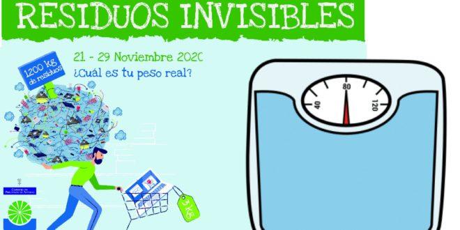 RESIDUOS INVISIBLES. Semana Europea de la Prevención de Residuos 2020