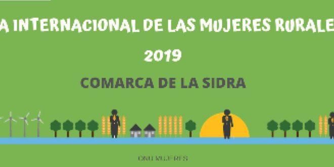 Día Internacional de las Mujeres Rurales. «Emprendedoras en la Comarca de la Sidra»