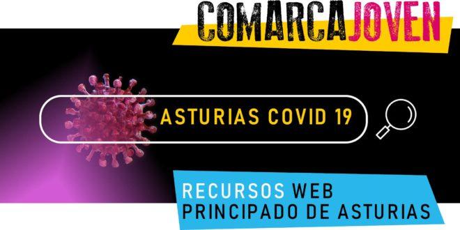 RECURSOS WEB DEL PRINCIPADO DE ASTURIAS COVID 19
