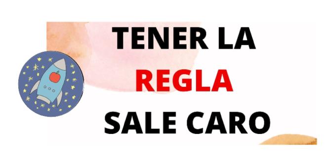 «TENER LA REGLA SALE CARO». Campaña del Grupo de Participación de Nava