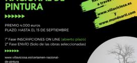 Abierto plazo del XXIII Certamen Nacional de Pintura de Villaviciosa, ahora por internet