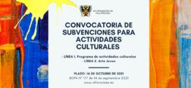 El Ayuntamiento de Villaviciosa crea una nueva línea de apoyo al Arte Joven en su convocatoria anual de subvenciones culturales