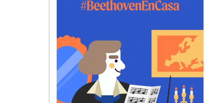 ¿Te atreves a interpretar el «Himno de la Alegría»? #BeethovEnCasa.