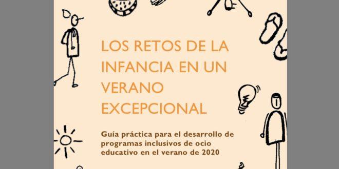 Guía de ocio educativo e inclusivo. Ideas y recursos para afrontar un verano de excepción