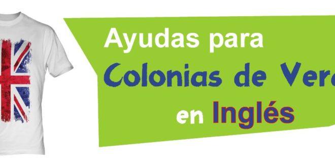 Programa de Inmersión lingüística en colonias de vacaciones.