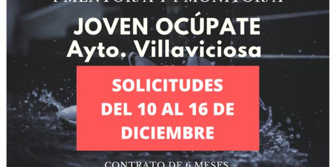 10 plazas para el Joven Ocúpate de Villaviciosa: alumnos/as, mentor/a y monitor/a