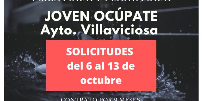Convocado en Villaviciosa el programa Joven Ocúpate. Solicitudes hasta el 13 de octubre