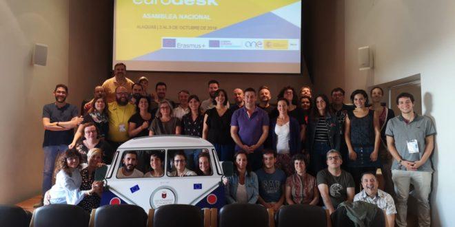 La Asamblea EURODESK celebrada en Alaquás impulsa la red europea de información juvenil