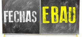 EBAU, cambios en el calendario y en las pruebas