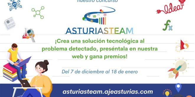 """Concurso de ideas innovadoras """"AsturiaSteam"""". Ampliación del Plazo"""