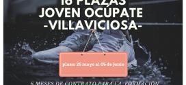 Convocadas 16 plazas en Villaviciosa del programa Joven Ocúpate