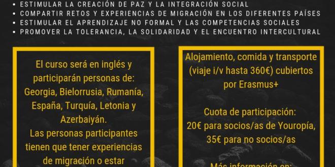 Curso en Lituania sobre migración, paz e integración. Una convocatoria Erasmus+ con Youropia
