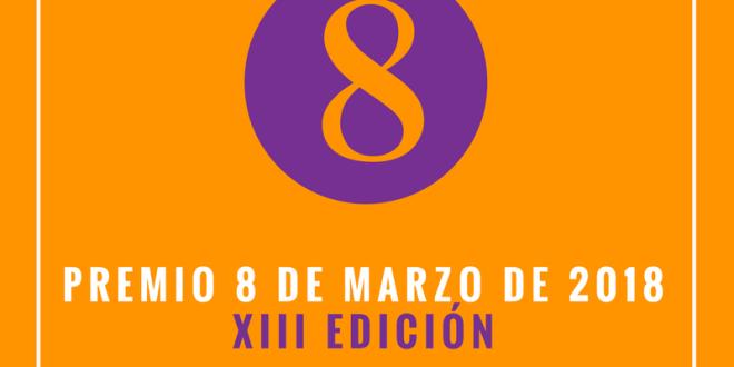 """Convocada la XIII Edición del Premio """"8 DE MARZO"""""""
