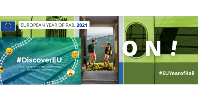 DiscoverEU: «Para salir del túnel… mejor que nunca, el tren»