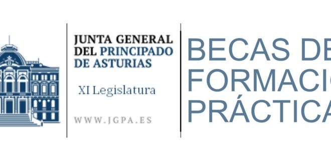 Becas de formación práctica para Junta General del Principado