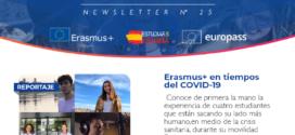 Erasmus+ en tiempos de COVID-19