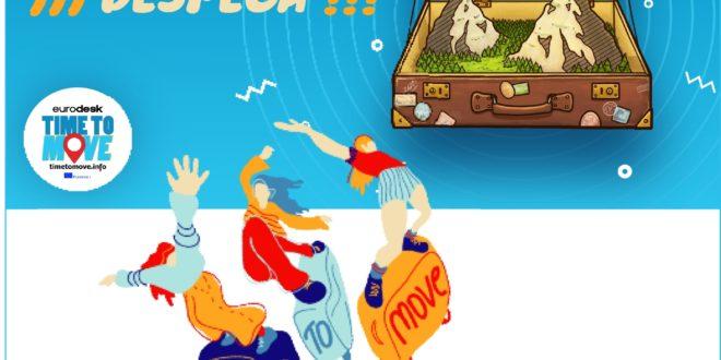3, 2, 1 ¡Despega! Time to Move, campaña de difusión de recursos europeos para jóvenes