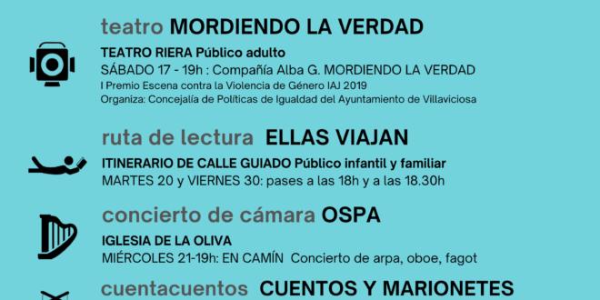 La agenda cultural de abril comienza con el cine de MUSOC en el Teatro Riera