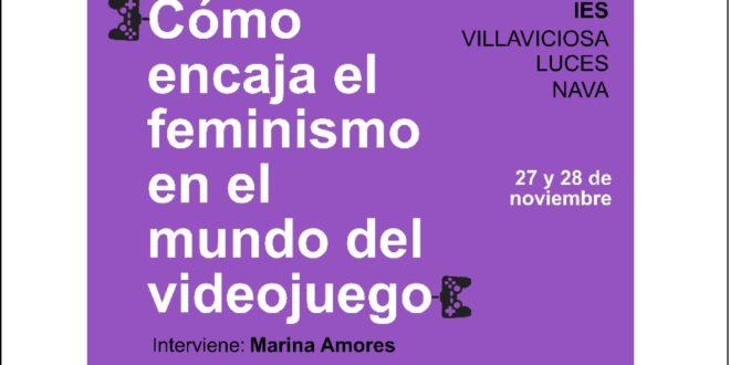 Videojuegos y feminismo. Marina Amores, Blissy en los IES de la Comarca de la Sidra
