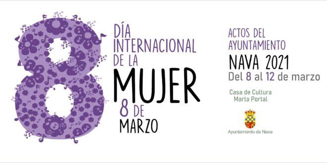 Programa de actos del Ayuntamiento de Nava: Música y cine para conmemorar el Día Internacional de la Mujer