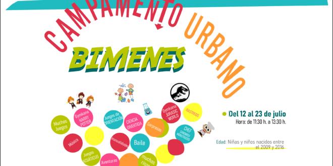 Mini «Campamento urbano» en Bimenes