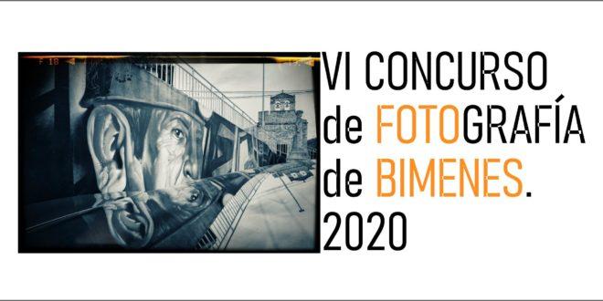 VI CONCURSO DE FOTOGRAFÍA DE BIMENES