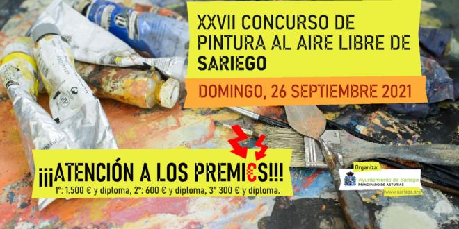 Concurso de Pintura al aire libre de Sariego
