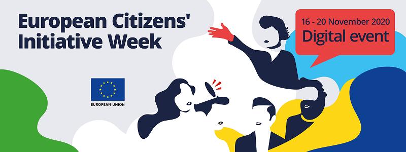 Semana de la Iniciativa Ciudadana europea, registro abierto para el evento on line