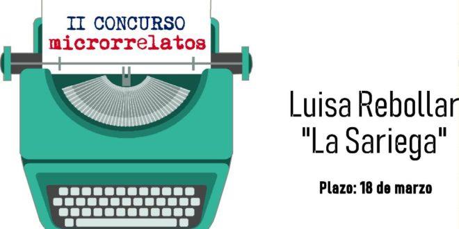 II Concurso de Microrrelatos Luisa Rebollar «La Sariega»