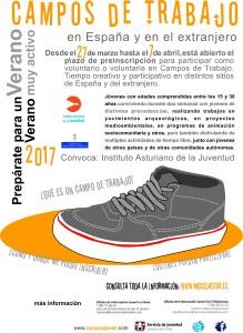 cartel campos de trabajo 2017