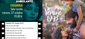 """""""VERANO 1993"""", DE CARLA SIMÓN, ABRE EL CICLO DE CINEMATECA AMBULANTE EN COLUNGA"""
