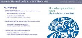 Día de los Humedales en la Reserva Natural de la Ría de Villaviciosa