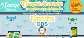 «Drones en busca de los ODS» un campamento de altos vuelos para jóvenes y adolescentes