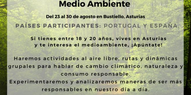 YouthEcochange, Intercambio juvenil en Bustiello, Mieres, con jóvenes de Portugal ¡inscripciones abiertas!