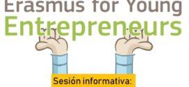 Sesión informativa sobre ERASMUS para jóvenes emprendedores