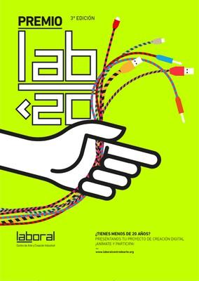 3er Concurso de creación digital para jóvenes hasta 20 años Premio LAB<20