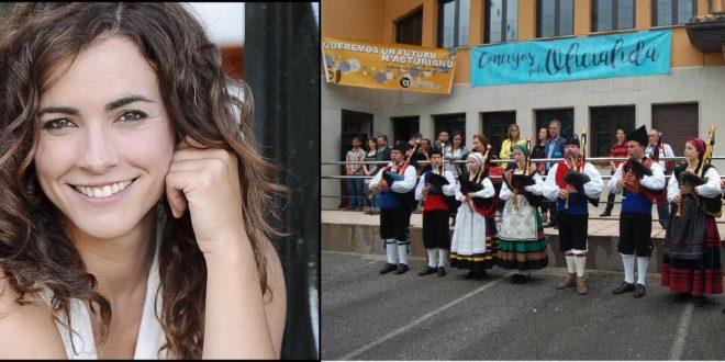 María Cotiello apregonará la Fiesta de la Oficialidá. Bimenes.