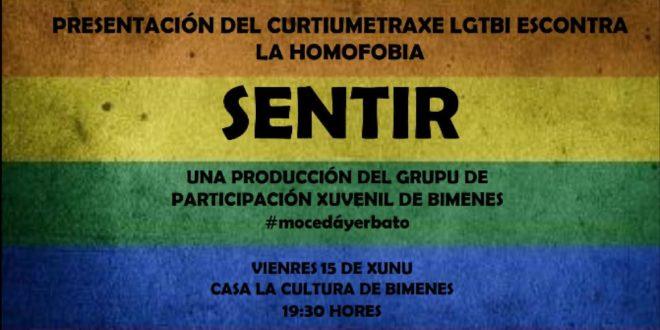 """Grupo de Participación de Bimenes. PRESENTACIÓN CURTIUMETRAXE """"SENTIR"""""""