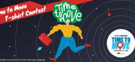 Time to Move! El concurso de camisetas está abierto hasta el 31 de octubre